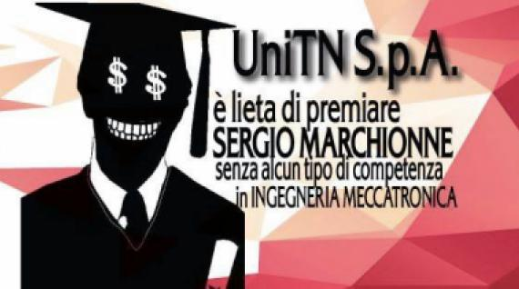 Il Collettivo Universitario Refresh promette protesta