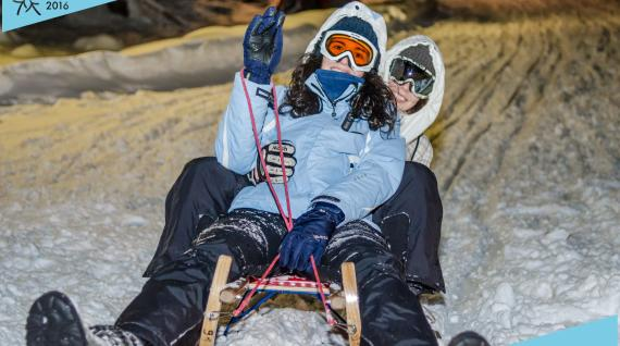 Europe's biggest winter sports event organised by students for students!