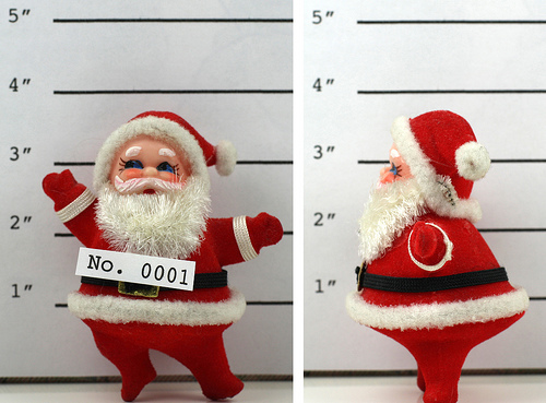Wanted Santa Claus
