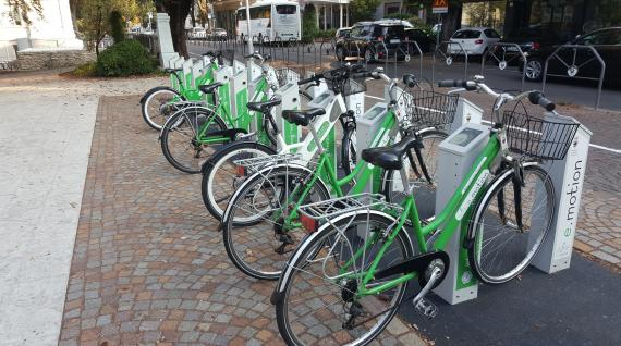 Bike sharing trentino e.motion