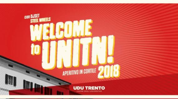 Welcome to UniTN! La diretta