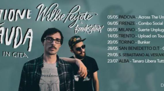 Willie Peyote a Trento per l'ultima data di Upload on Tour