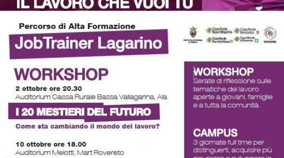 "Workshop ""Job Trainer"": I 20 MESTIERI DEL FUTURO"