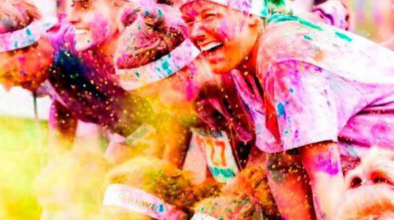 Torna la Color Run: si va alle Hawaii