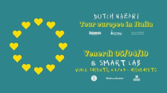 "Smart Lab sgancia il ""cantautorap"" di Dutch Nazari"