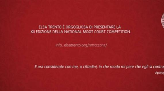 National Moot Court Competition: XII edizione targata Trento